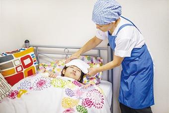 急病時の看護や病院への付き添いなども。
